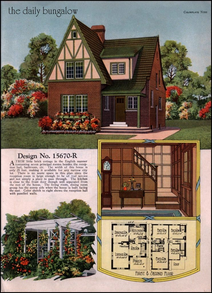 Radford Colorkeed Home Plans Vintage House Plans House Styles