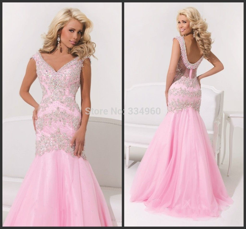 prom dresses with a portrait \
