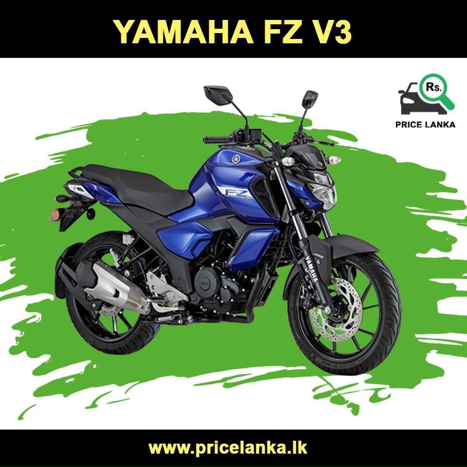 Yamaha Fz V3 Price In Sri Lanka Yamaha Fz Yamaha New Yamaha Fz