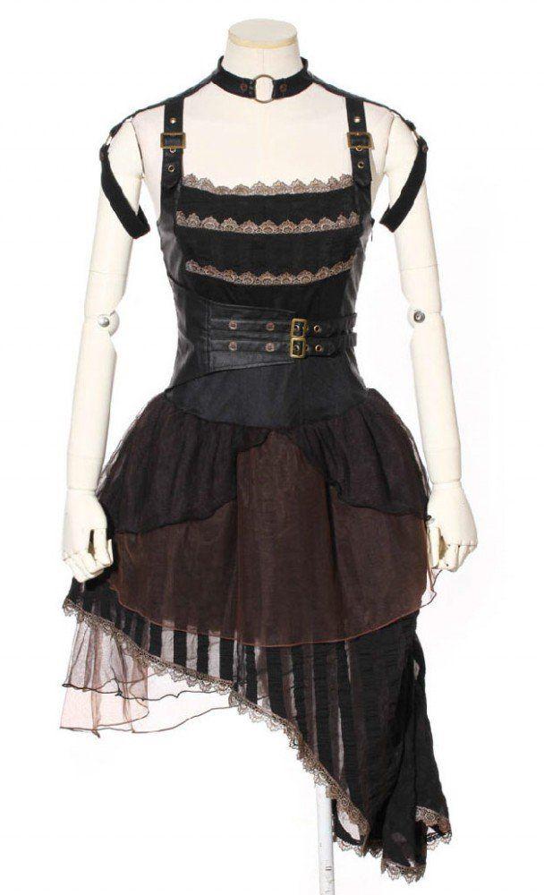 Gothic kleid schwarz amazon