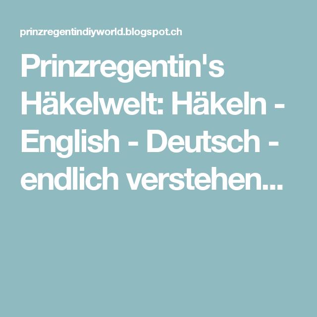 prinzregentins hkelwelt hkeln english deutsch endlich verstehen - Zusammenfassung English