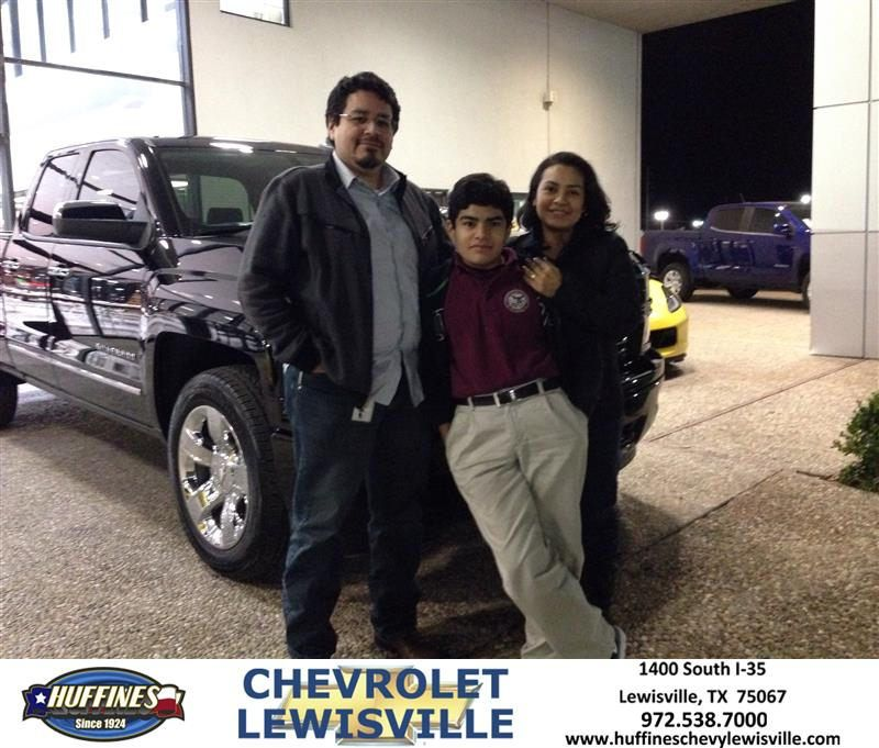 Congratulations Rob on your Chevrolet Silverado 1500