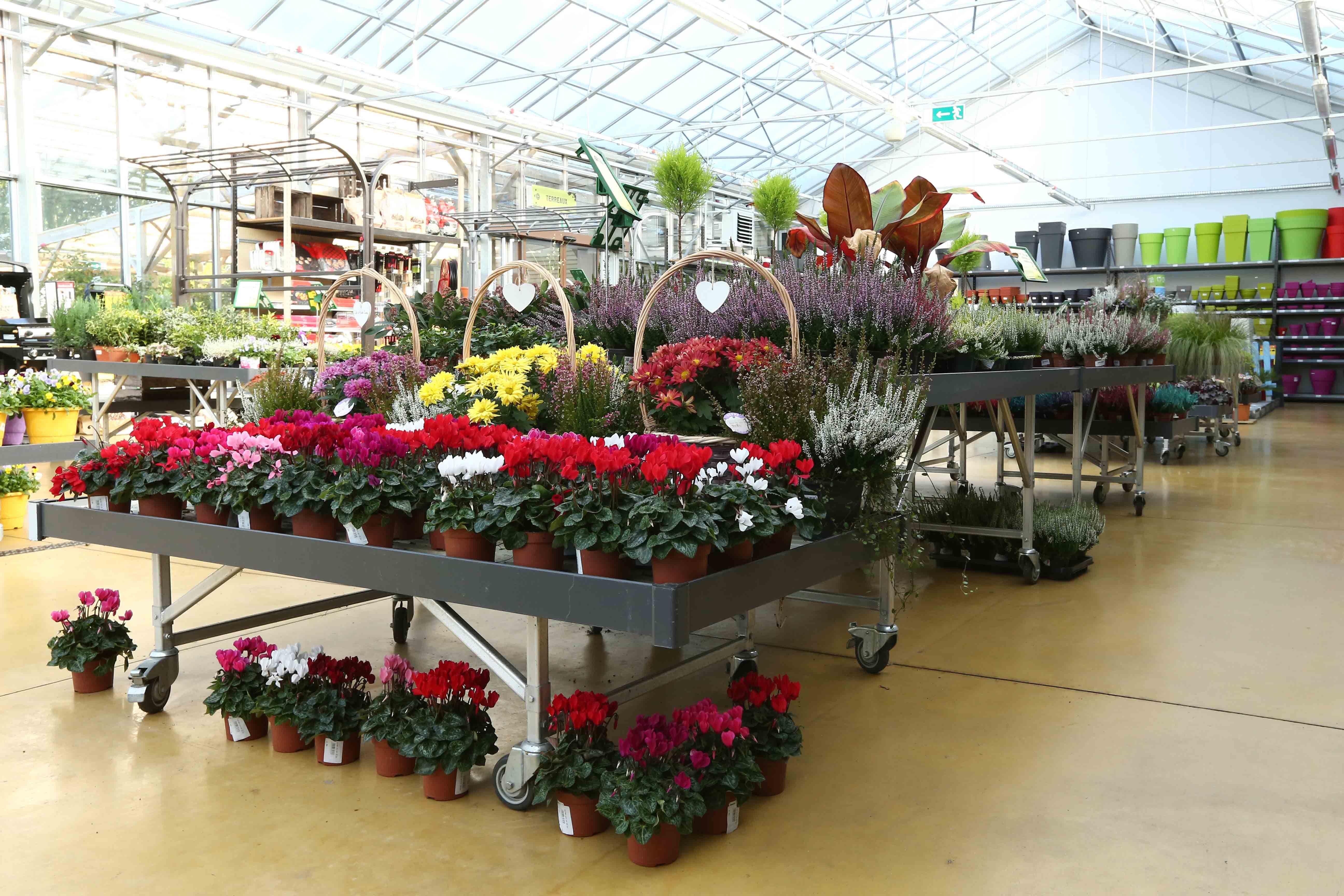 Tablar Jardinerie Agencement Vertdis Gamm Vert Mobilier