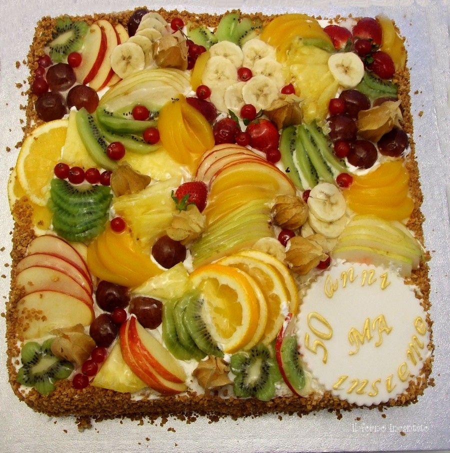 Torta alla frutta fresca frutta torta e torte alla frutta - Torte salate decorate ...