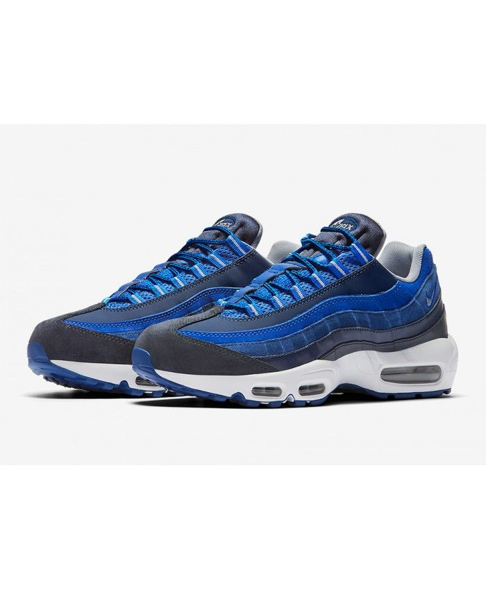 nike air max 95 royal blue and white bedding
