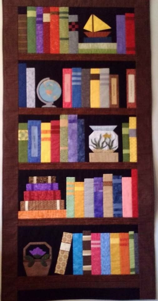 Explore Bookshelf Quilts Pattern Free And More