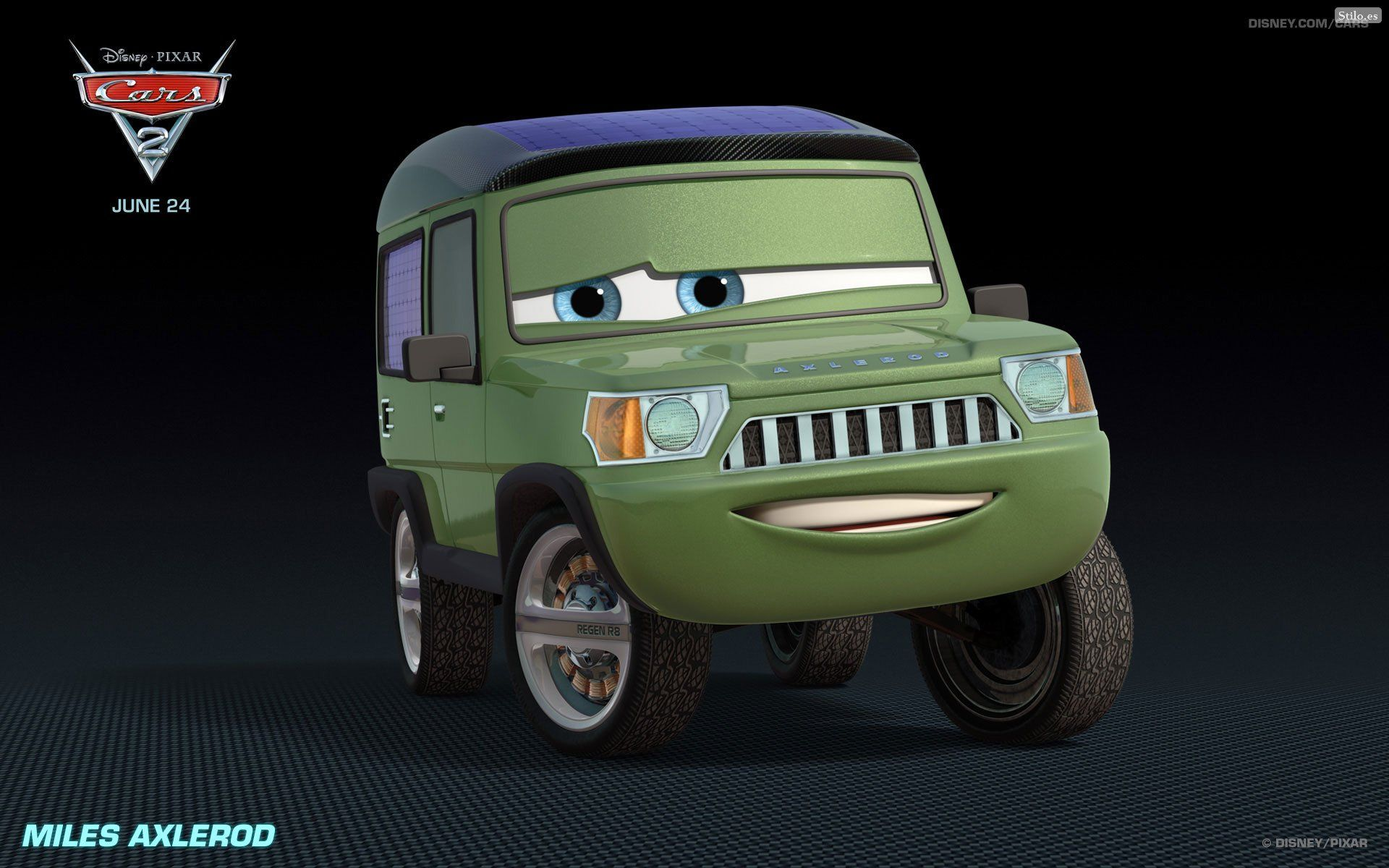 All cars characters cars 2 2011 wallpapers