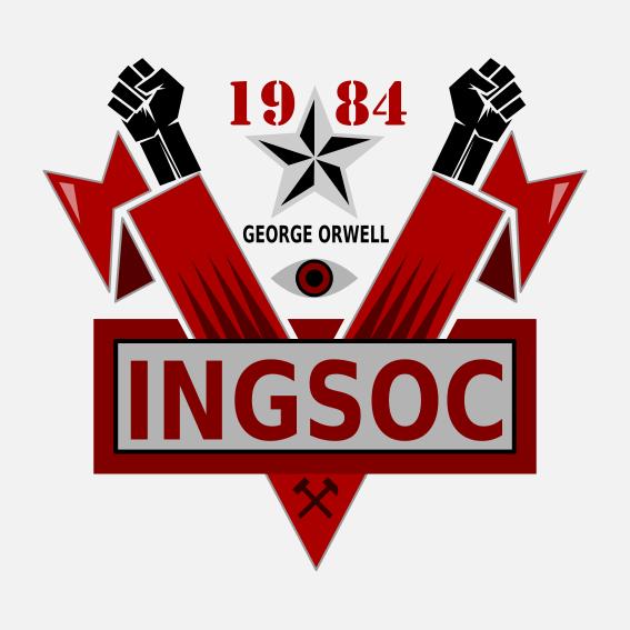 Symbol Logo George Orwell 1984 Ingsoc George Orwell 1984