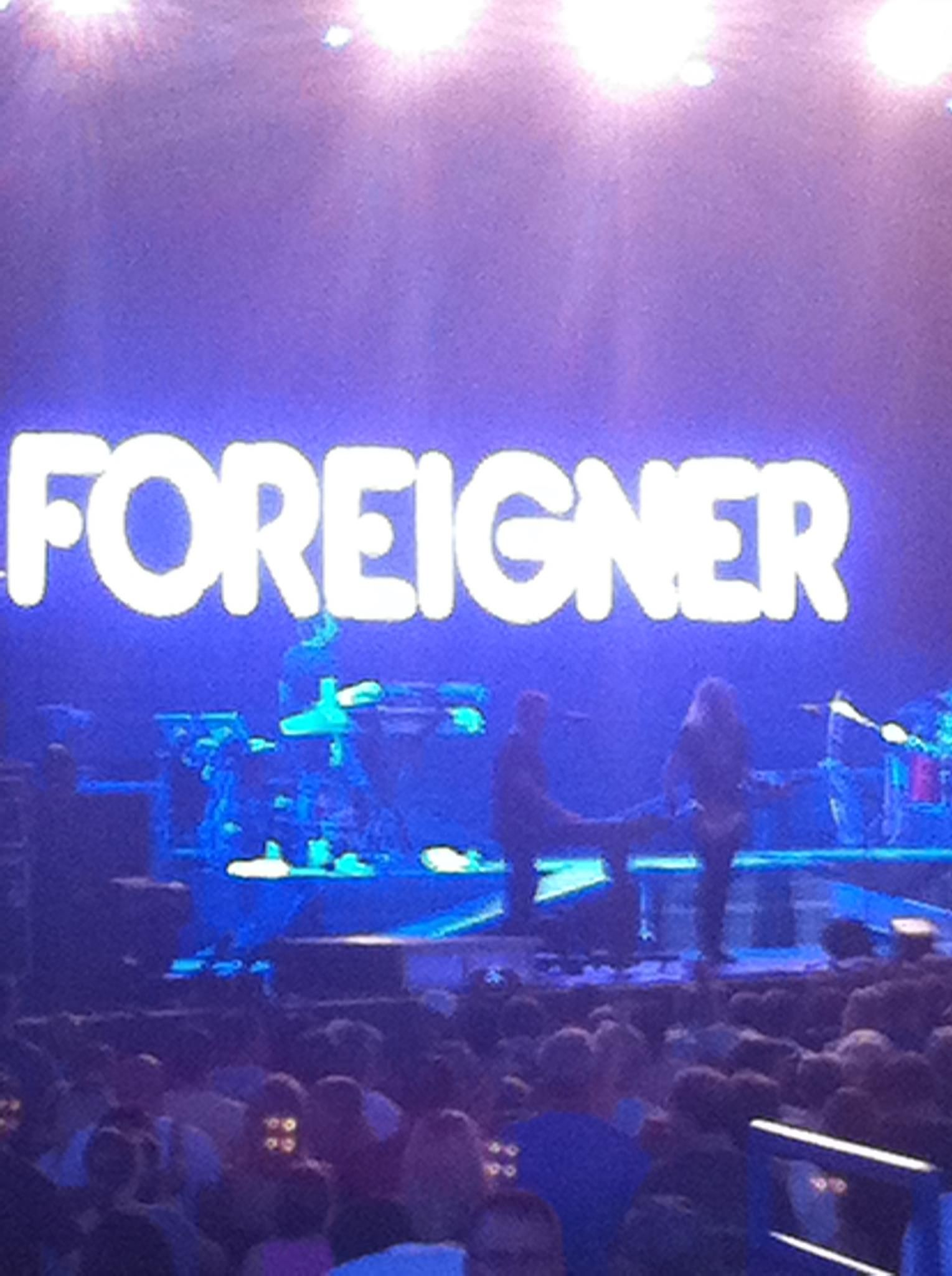 Foreigner Raleigh Nc 2011 Concert Music 80 Bands