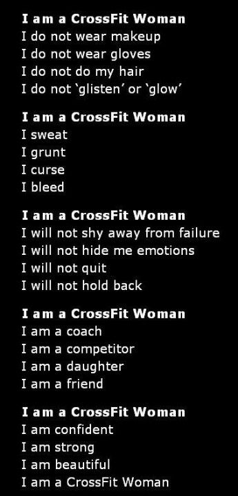 Crossfit Women Are Hot! That Should Be In There Somewhere