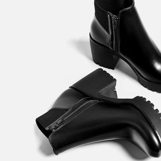 Abordable Vente En Ligne Bas Prix Sortie Zara BOTTINES TRACK à CHAUSSETTES En France En Ligne sneakernews RwSJ0H3o