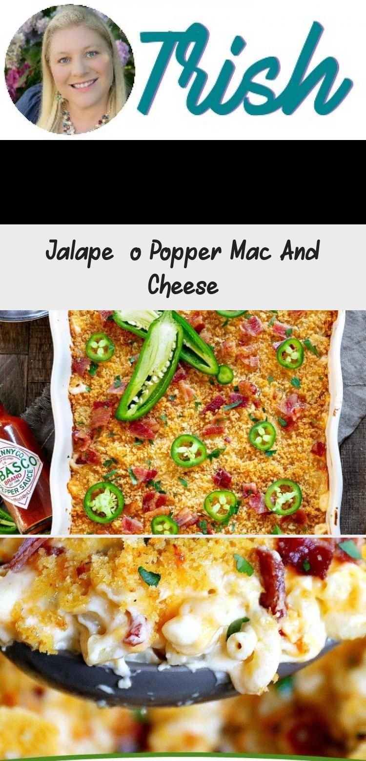 The BEST Jalapeño Popper Mac and Cheese you'll ever try! Extra creamy, loaded with bacon, cream ch