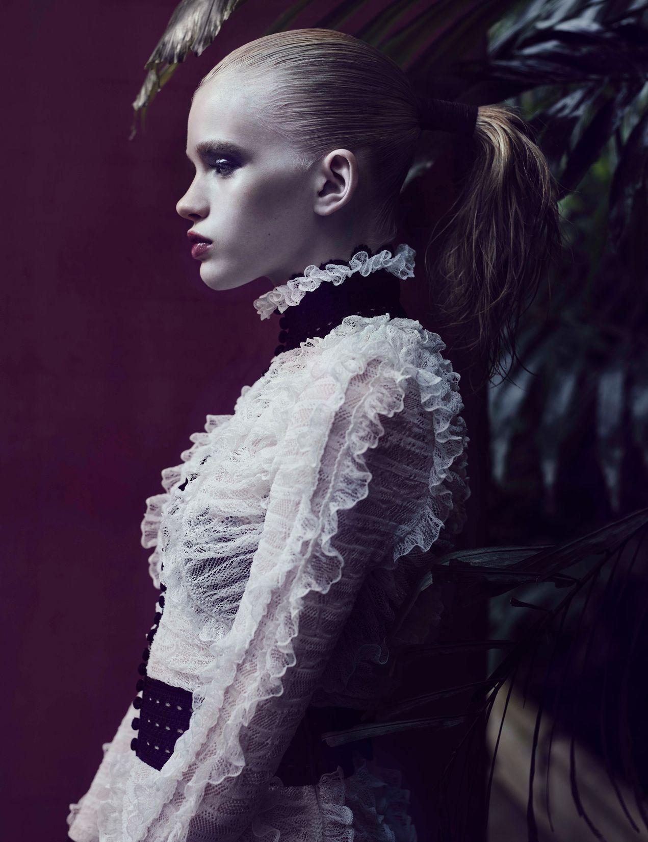 Stella Lucia for LOVE Magazine FW15 Sølve Sundsbø HAIR: SYD HAYES MAKE UP: HIROMI UEDA