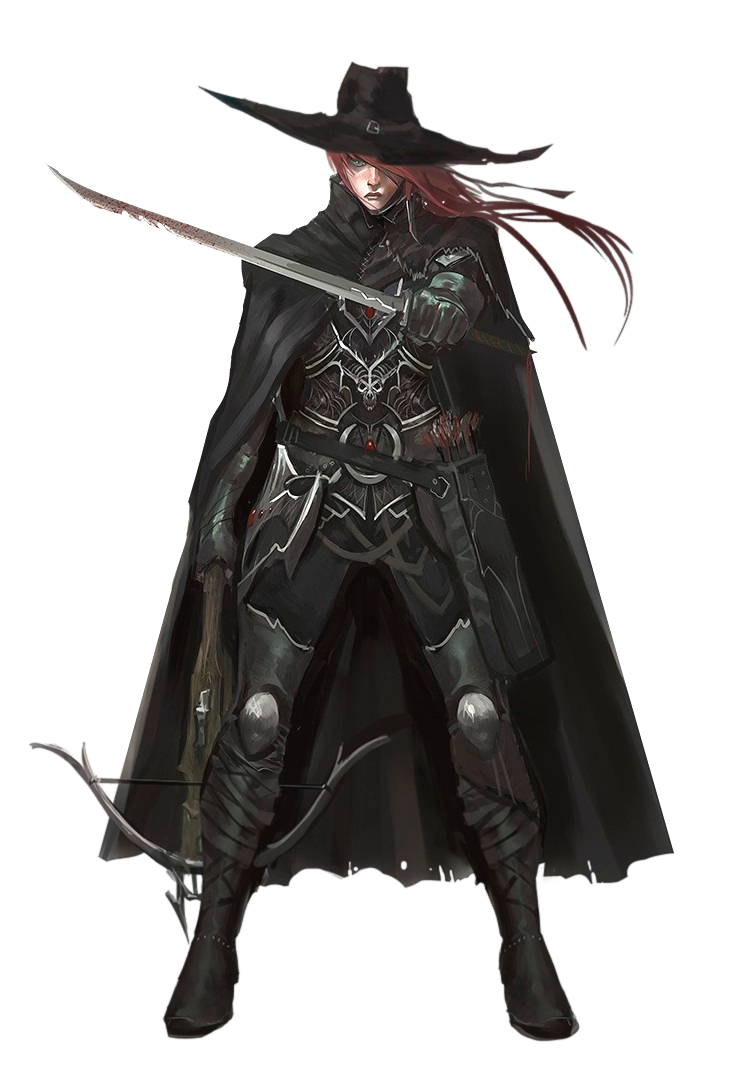 5c3241430ba Female Human Inquisitor of Pharasma - Pathfinder PFRPG DND D D 3.5 5E 5th  ed d20 fantasy