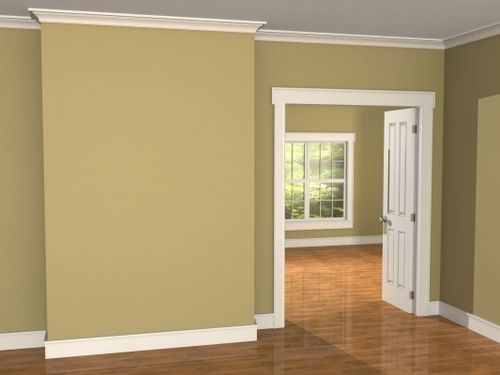 I Want This Everywhere Baseboard Styles Craftsman Trim Craftsman Style Homes