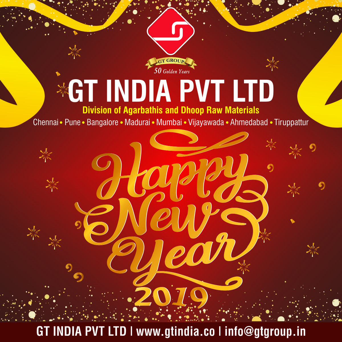 We Wish You A Happy New Year Welcome To 2019 Happynewyear
