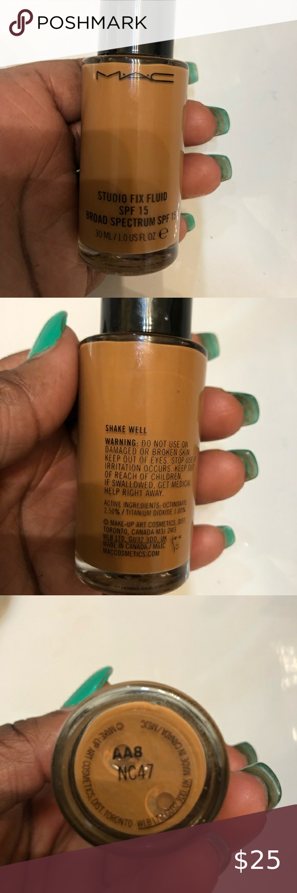Mac NC47 foundation in 2020 Spf foundation, Makeup