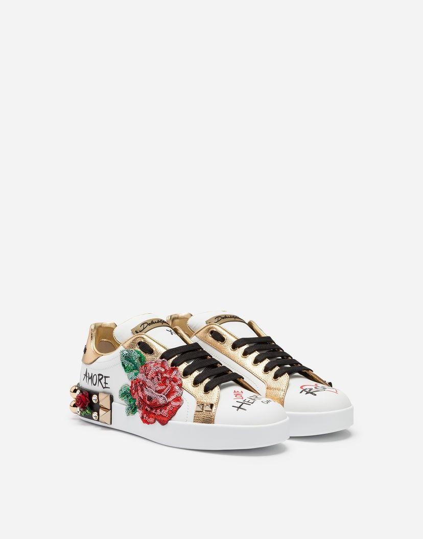 Dolce & Gabbana SpringSummer 2019. Incantevoli sneakers con