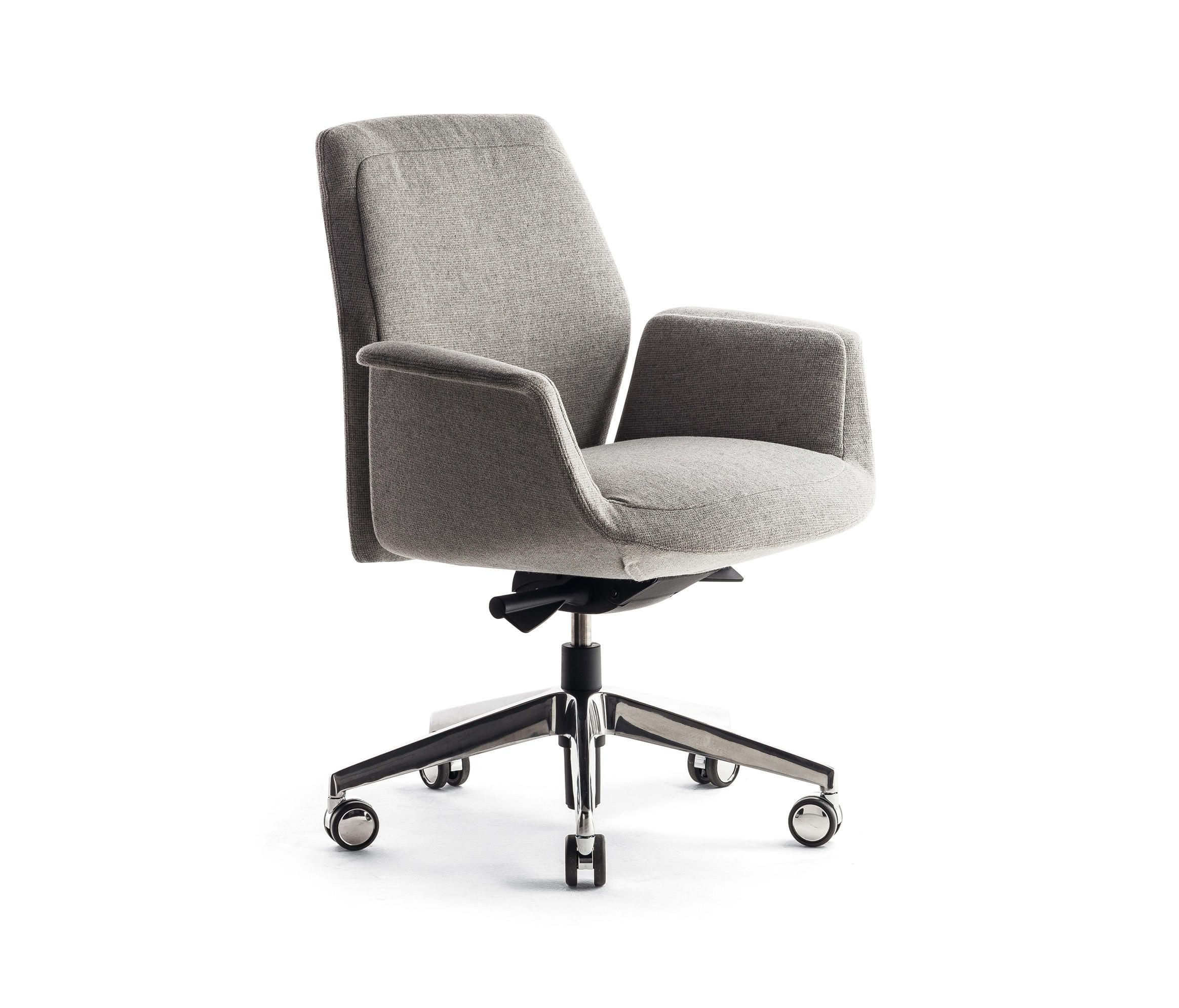 Downtown Swivel Meeting Designer Chairs From Poltrona Frau
