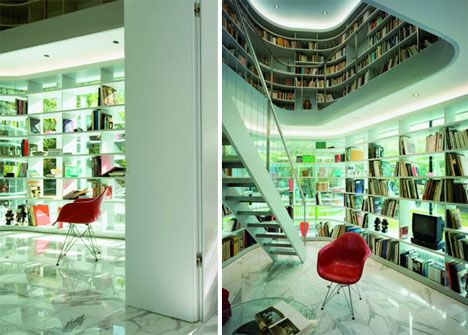 Unusual Home Libraries