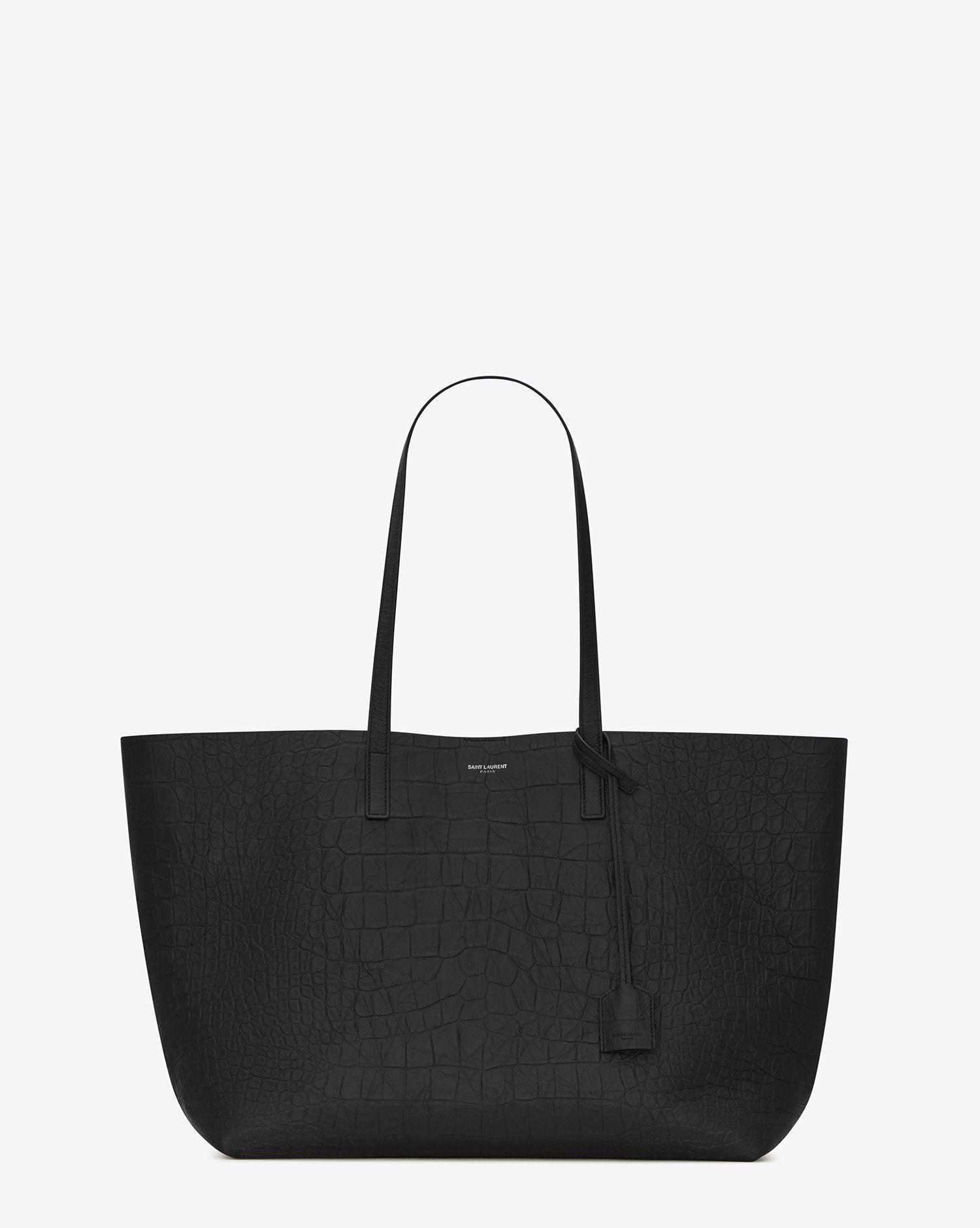 2d8e8ac758f shopping bag saint laurent E/W in embossed crocodile leather in 2019 ...