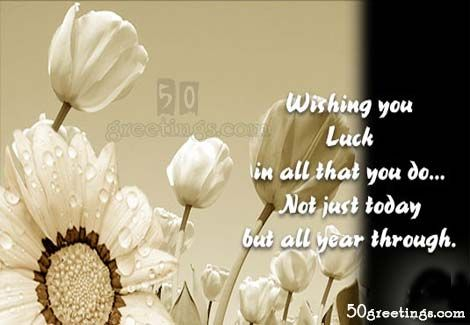Best Wishes Quotes For Future Good luck floral wishes card | congratulation | Luck quotes  Best Wishes Quotes For Future