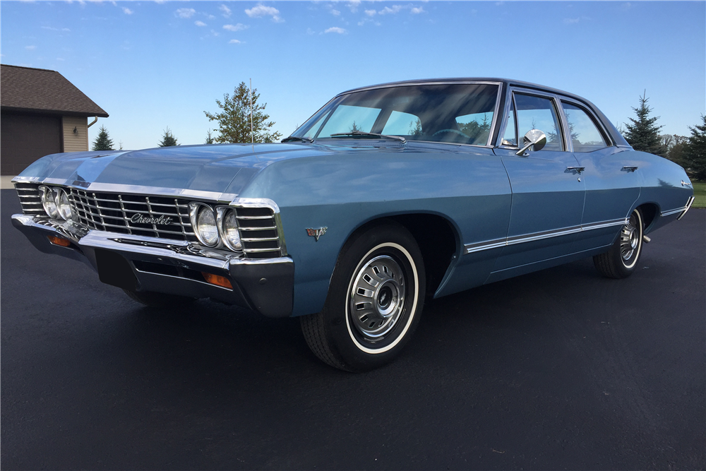 Available At Scottsdale 2017 Lot 327 1967 Chevrolet Impala