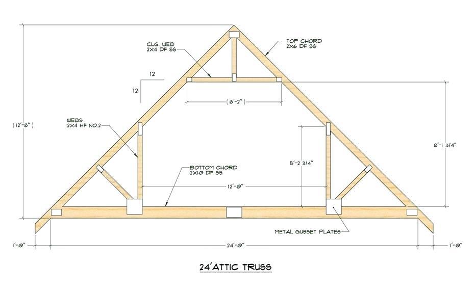 Menards Truss Trusses Pole Barn Lucamalattia Roof Truss Design
