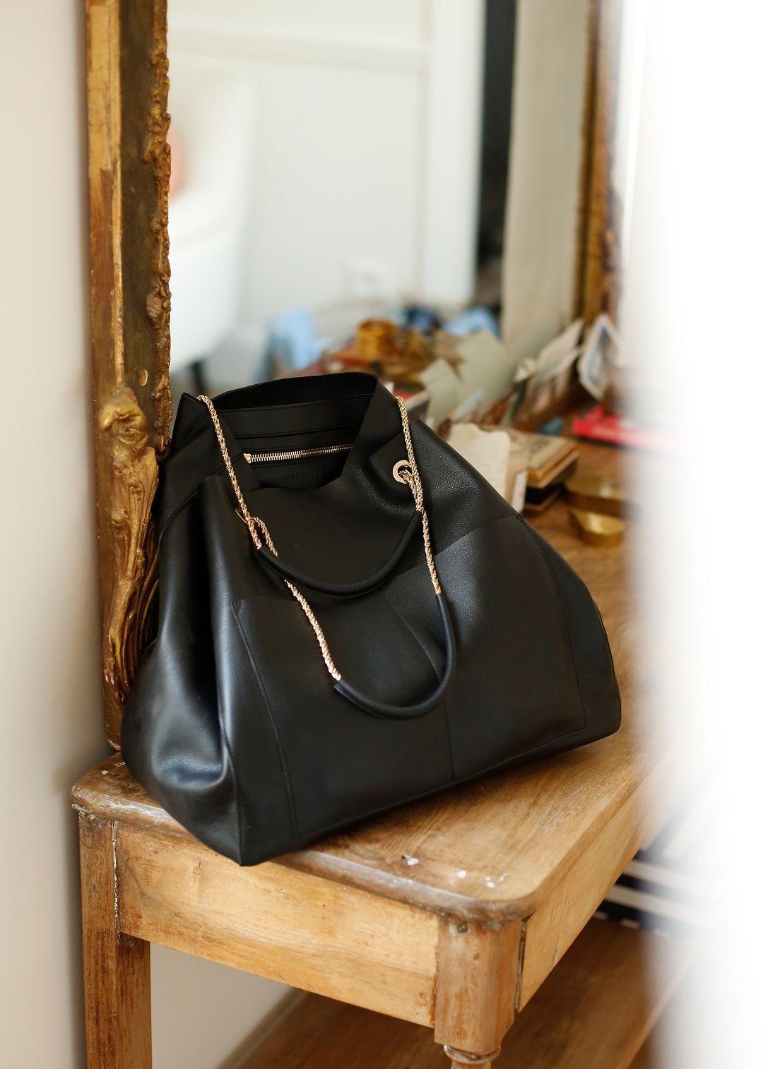 8ecb535e00 Sézane - Gaby Bag Black Handbags, Purses And Handbags, Sac Michael Kors,  Fashion