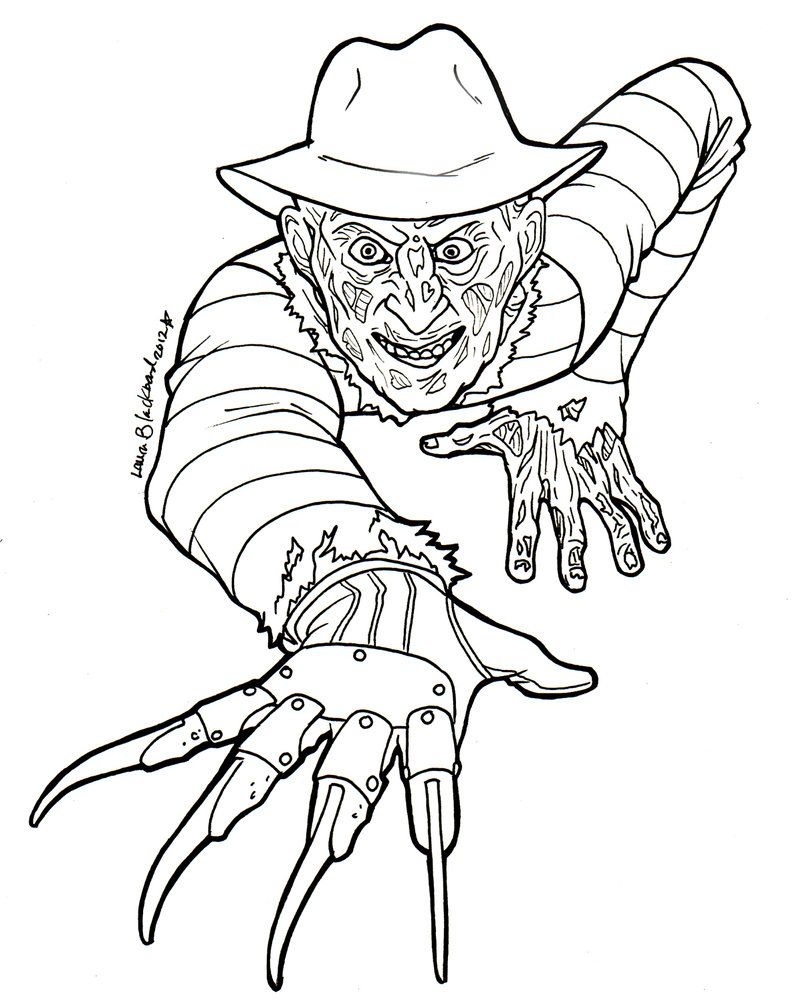 http://colorings.co/freddy-krueger-coloring-pages/ | Colorings ...
