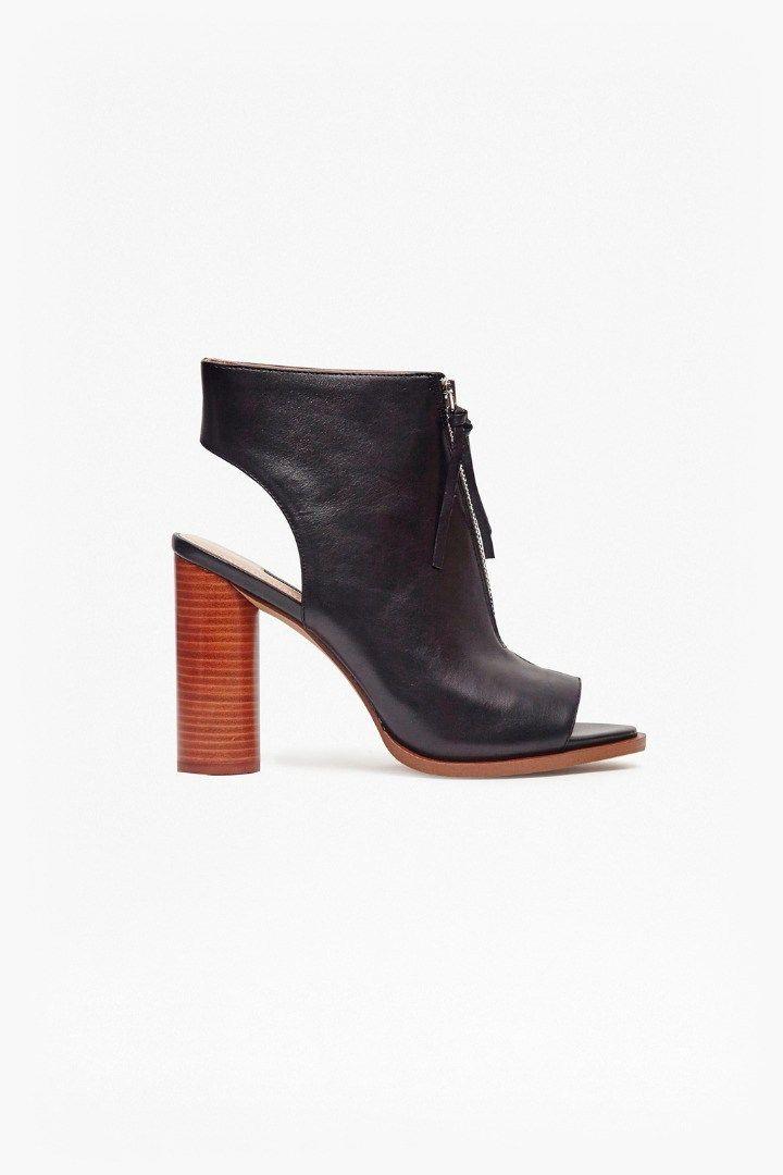 Clothes · Utarra Zip Front Peep Toe Boots ... 7421a2042