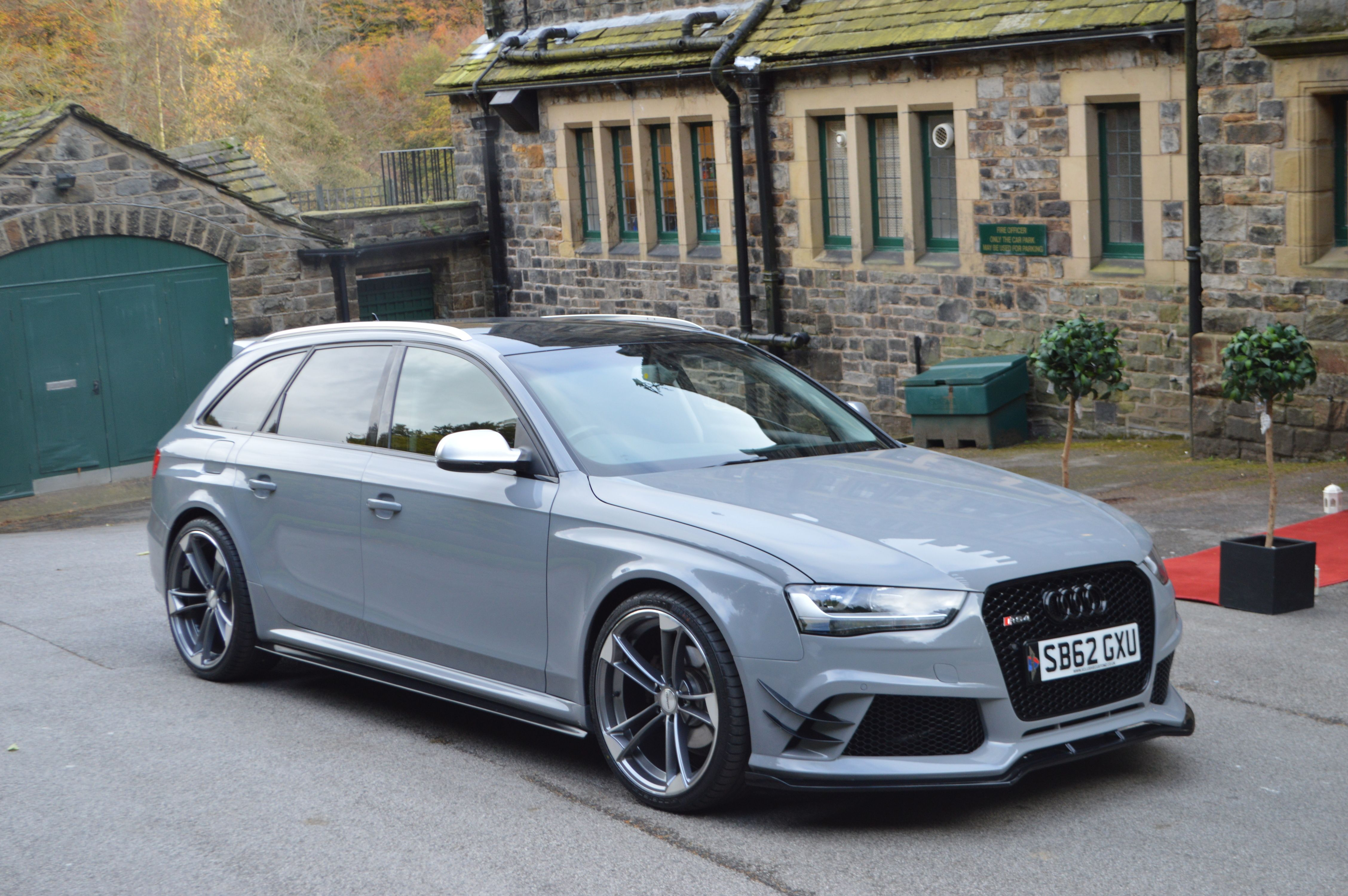 Audi A4 B8 Avant To Rs4 Full Body Kit Wagons Estates Audi