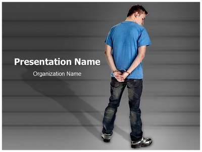 Handcuffed man powerpoint template is one of the best powerpoint handcuffed man powerpoint template is one of the best powerpoint templates by editabletemplates toneelgroepblik Image collections