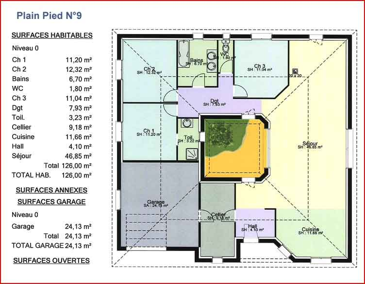 r sultat de recherche d 39 images pour plan maison sur 300m2 de terrain plan de maison sur. Black Bedroom Furniture Sets. Home Design Ideas