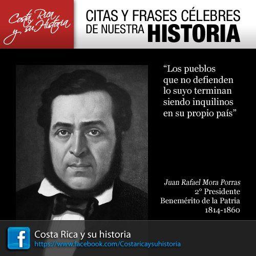 Juan Rafael Mora Porras Costa Rica Central America El
