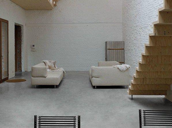 Bodenbelag Beton wand und bodenbelag mit beton effekt microtopping by ideal work