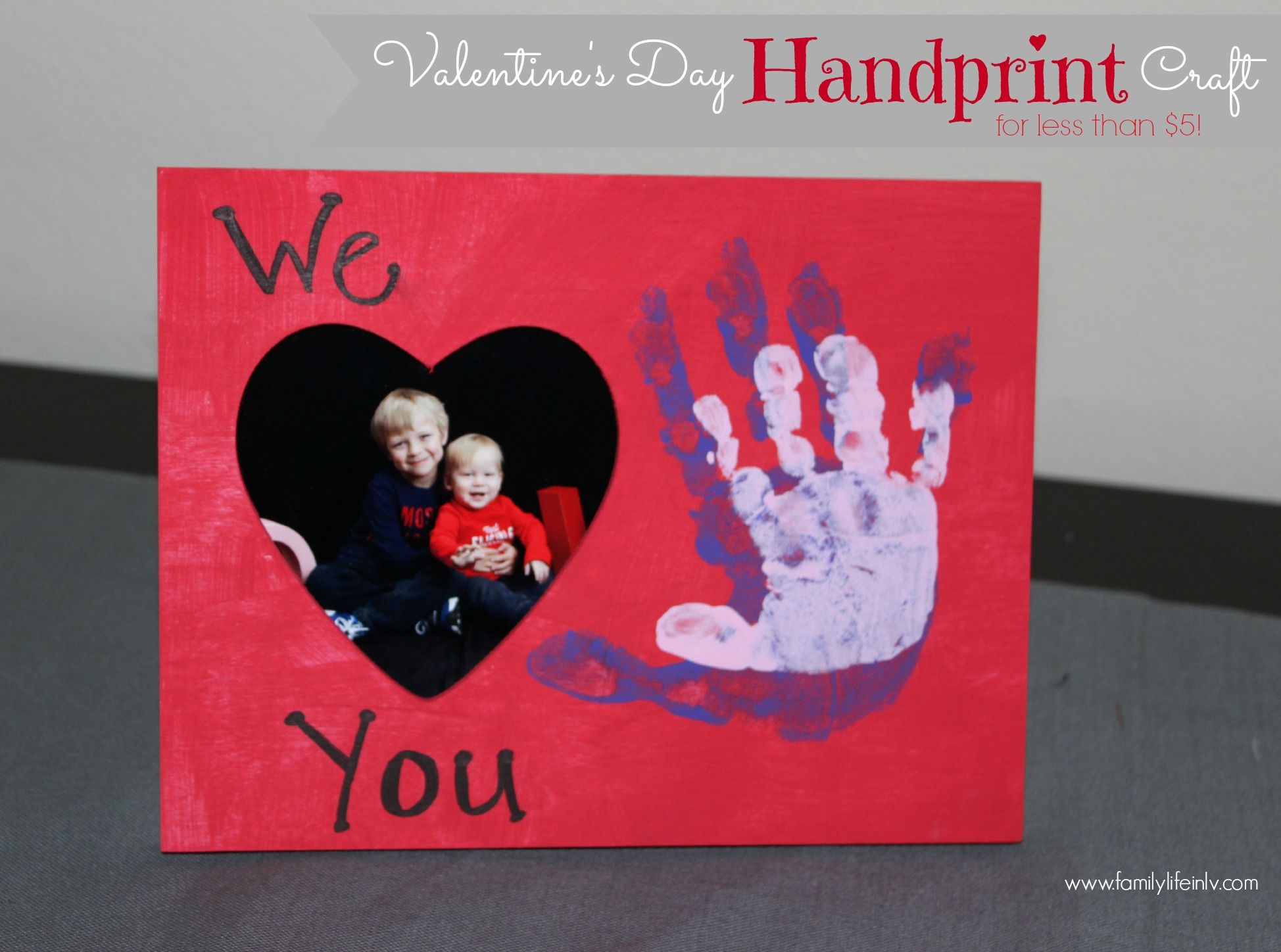 Valentines day handprint frame craft our knight lifecomment valentines craft for kids valentnes day craft handprint craft valentines day handprint craft valentines day frame jeuxipadfo Gallery