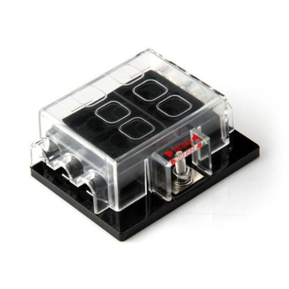 High Quality 6 Way Circuit Car Truck Automotive Atc Ato Blade Fuse Box Circuits Holder Fuseholder 32v