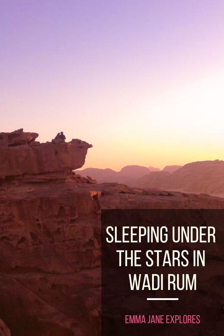 Sleeping Under The Stars In Wadi Rum #wadirum