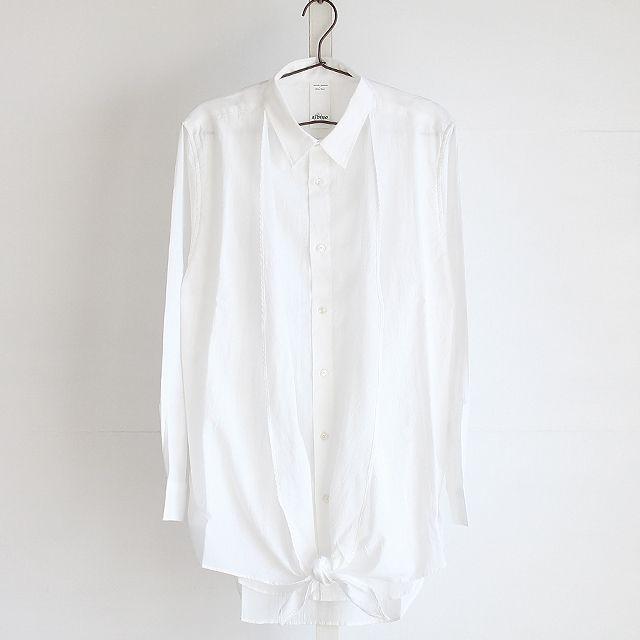 モード系ファッションの通販サイトalbino(アルビノ)です。こちらではカシュクールアレンジフェイクレイヤードロングシャツに関して紹介しております。他にもメンズ、レディース共にお使い頂けるモード系ファッションアイテムをご用意しております。
