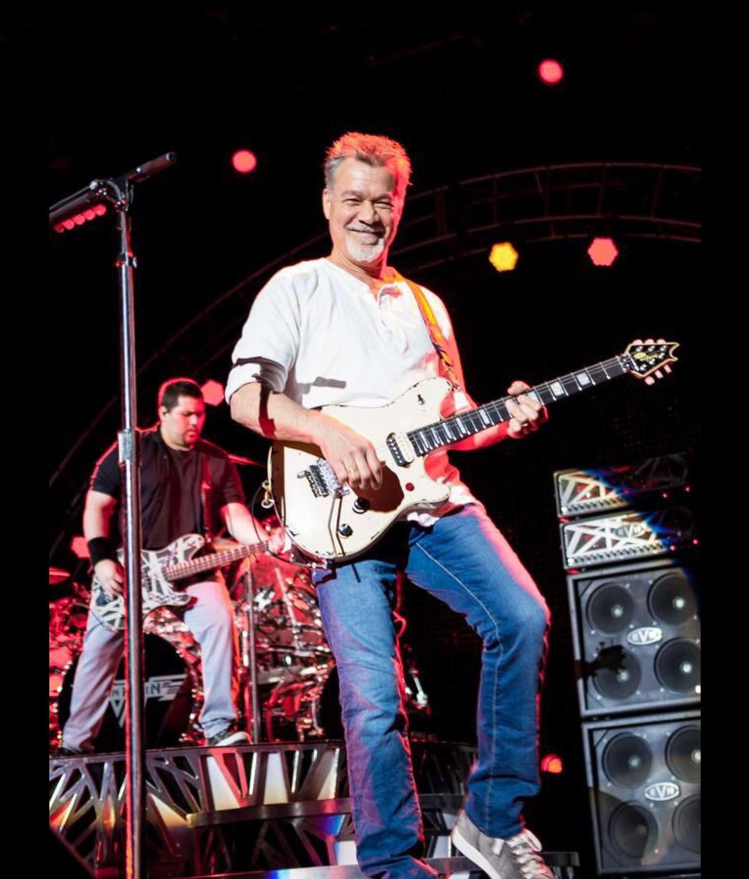Wolfgang Van Halen And Eddie Van Halen Eddie Van Halen Van Halen Van Halen 5150