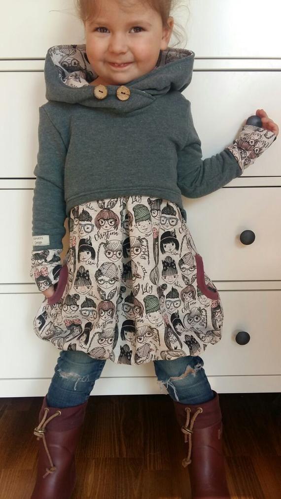 Photo of Set aus Hoodie und Kleid   Knitting Hat for girls #aus #Hoodie #Kleid #Set #und