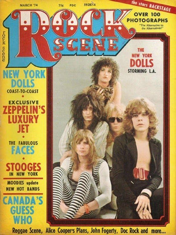 artesuono: New York Dolls, Rock Scene, 1974