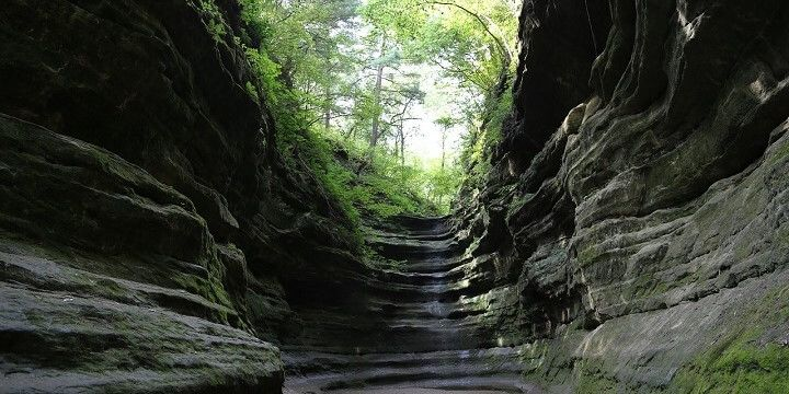 Starved Rock State Park, Illinois, USA