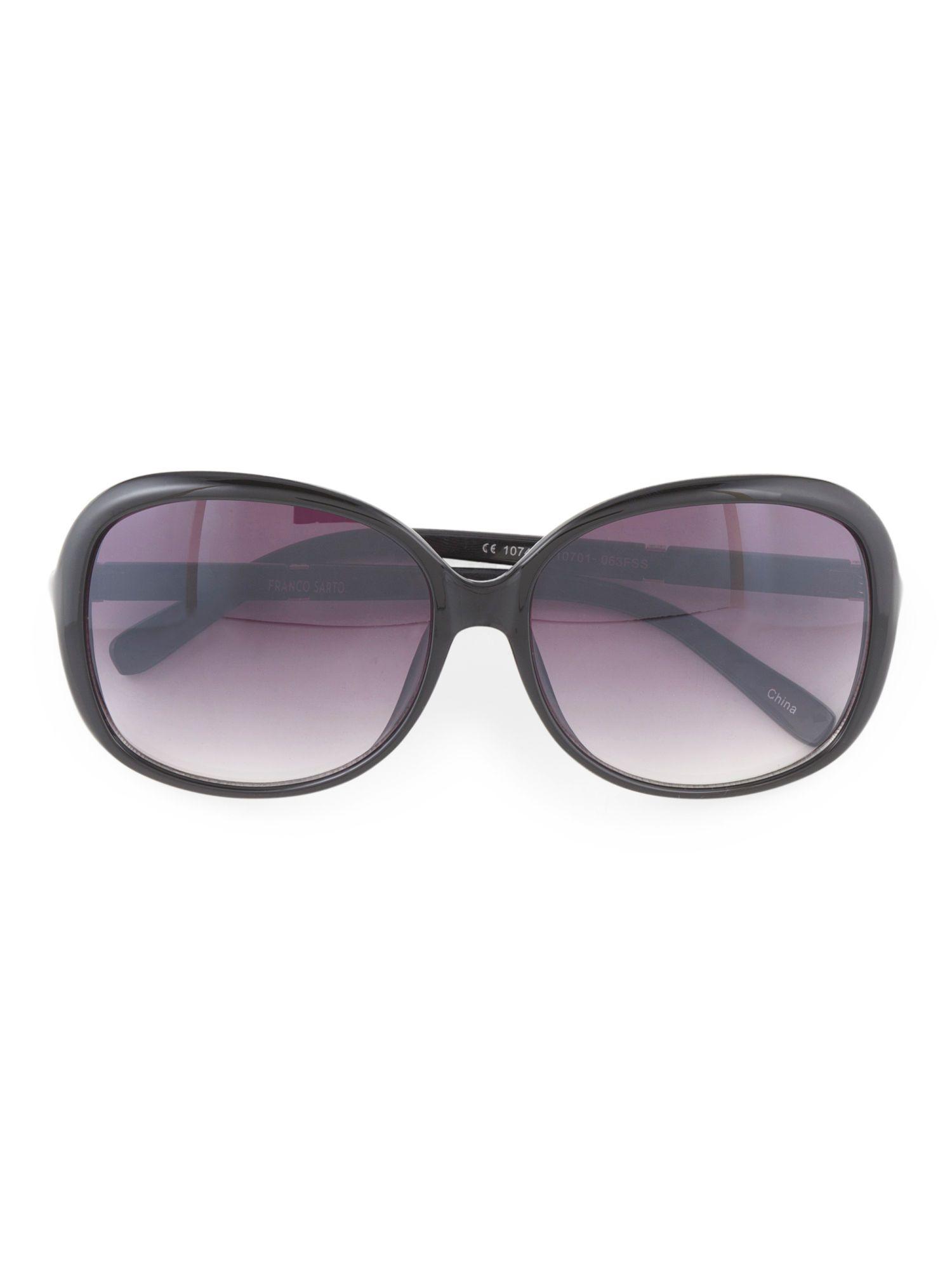 53772816bfb66 Franco Sarto Plastic sunglasses