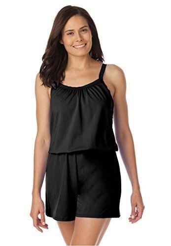1a4cbf4c06 Pin by anni harb on Plus Size | Romper swimsuit, Plus size swimwear ...