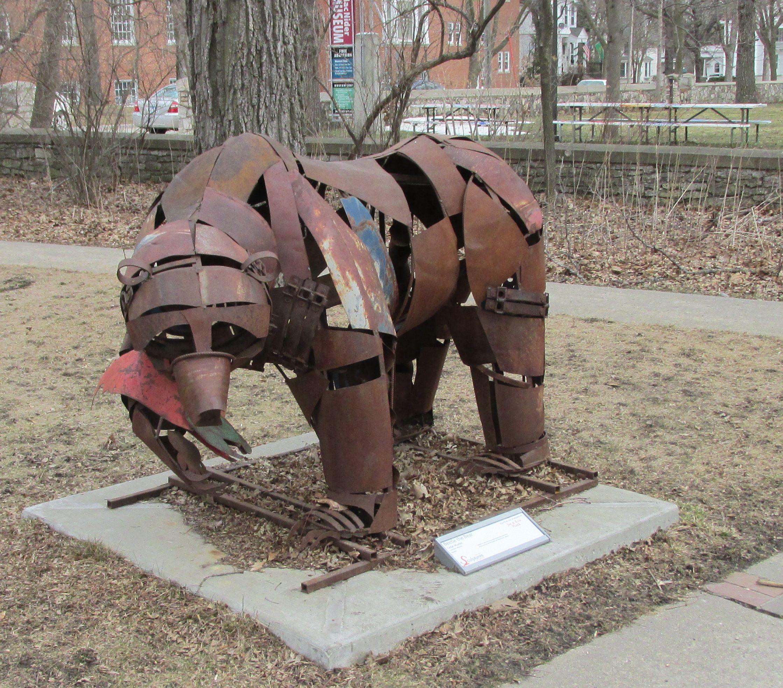 Pin by John Chapman on mason city Sculptures on Parade ...