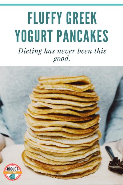 Photo of Low Carb Greek Yogurt Pancakes Recipe