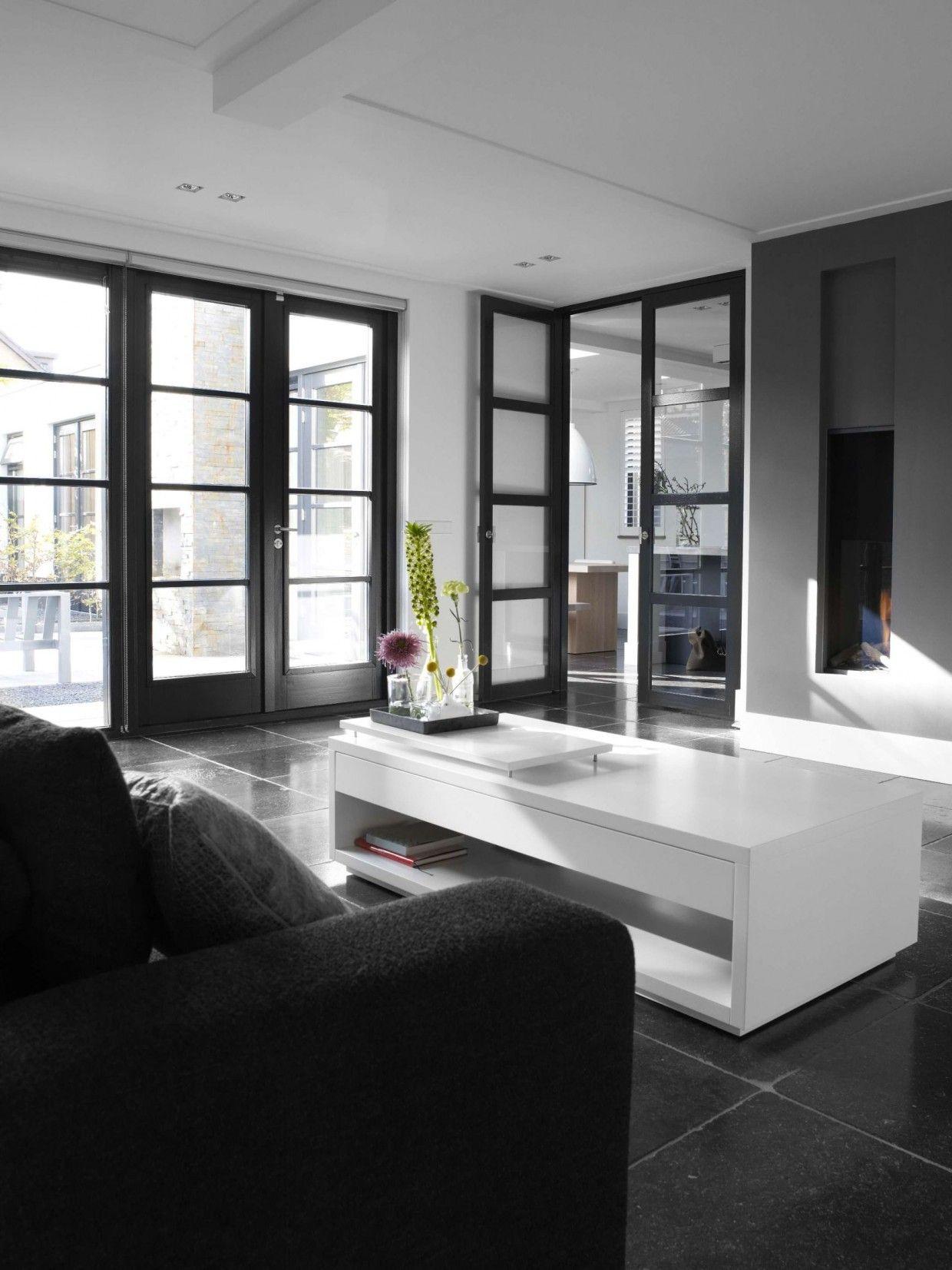 vrijstaande woning vernieuwd rijsenhout woonkamer openslaande deuren ...