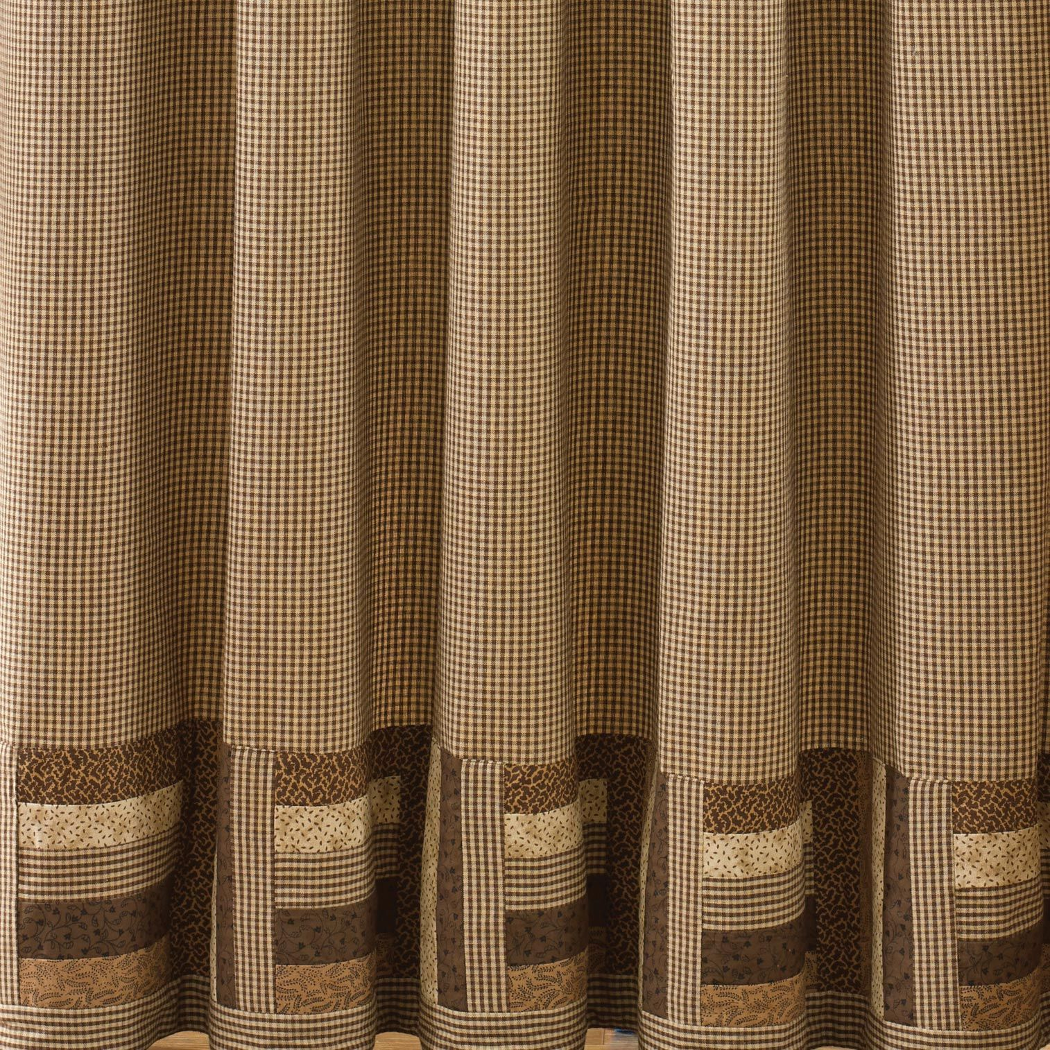 Shades Of Brown Shower Curtain In 2019 Country Home Hooks Primitive